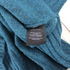 Anthropologie Sweaters - MOTH Anthropologie Teal Wool Blend Sweater M